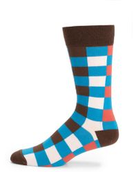 Marc By Marc Jacobs Checkered Socks - Multicolor