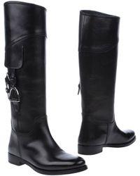 Ralph Lauren Boots - Black