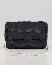 RED Valentino Ribbonlace Chain Shoulder Bag Black - Lyst