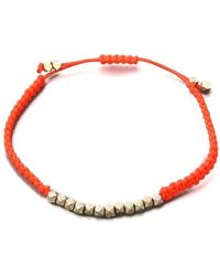 Shashi Neon Nugget Bracelet - Lyst