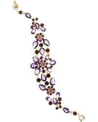 Brooks Brothers Vintage Floral Bracelet - Lyst