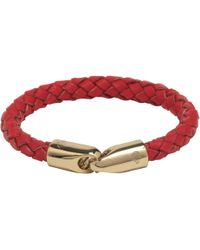 Mulberry Red Tubular Bracelet - Lyst