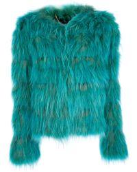 Sly010 - Racoon Fur Coat - Lyst