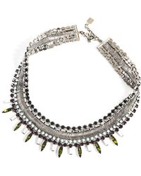 DANNIJO - Keira Embellished Necklace - Lyst