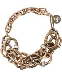 Lanvin - Short Collar Necklace - Lyst