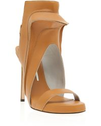 Camilla Skovgaard Stiletto With High Front Sandals - Lyst