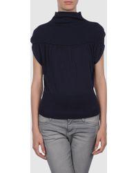 Mauro Gasperi Short Sleeve Sweater - Lyst