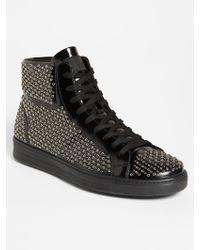 Prada Studded Sneaker - Lyst