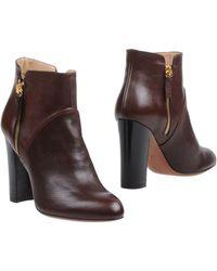 Enrico Lugani Ankle Boots - Brown