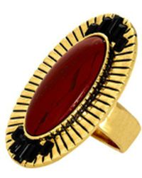 House Of Harlow Electric Charge Cocktail Ring - Lyst