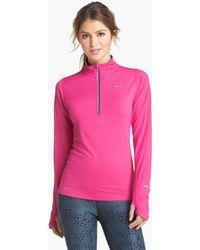 Nike Element Half Zip Top - Lyst