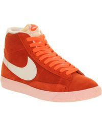 Nike Blazer Hi Suede Vintage - Lyst