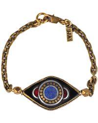 Vanessa Mooney Evil Eye Bracelet - Lyst