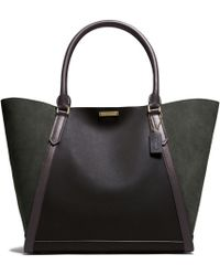 Coach Legacy Fulton Tote in Mixed Leather - Lyst