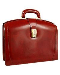 Pratesi - Junior Italian Leather Briefcase - Lyst