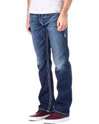 True Religion Ricky Super T Straight-leg Jeans - Lyst
