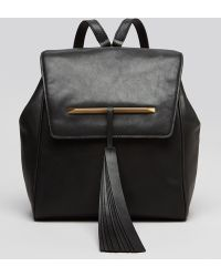 B Brian Atwood Backpack Juliette Party Chain Strap - Black