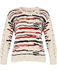 IRO Colored Stripe Knit Jumper - Lyst
