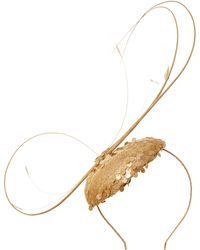 Biba - Sequin and Quillls Hairpiece On Band - Lyst