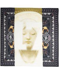 Givenchy Madonna 17 and Rottweilerprint Scarf black - Lyst