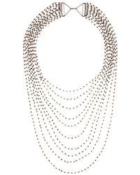 Iam By Ileana Makri - Multi-Strand Crystal Necklace - Lyst
