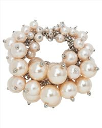 Jaeger - Pearl Cluster Bracelet - Lyst
