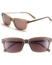 John Varvatos | Modern 52mm Aviator Sunglasses | Lyst