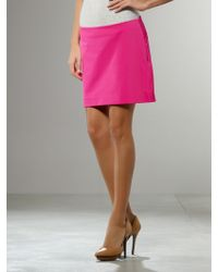 Patrizia Pepe Mini Skirt - Lyst