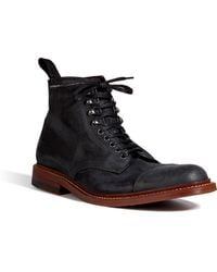 NDC - Leather Addison Prunelli Boots in Black - Lyst