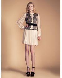 Temperley London Mia Lace Shirt Dress - Lyst