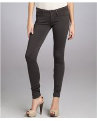 AG Adriano Goldschmied Grey Stretch Knit 'The Legging' Skinny Jeggings - Lyst