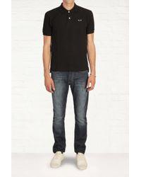 Comme Des Garçons Black Logo Polo Shirt - Lyst