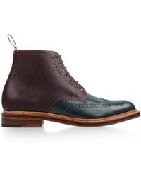 Foot The Coacher Ankle Boots - Brown
