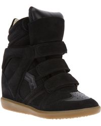 Isabel Marant The Bekett Wedge Sneaker - Lyst