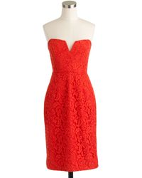 J.Crew Petite Cathleen Dress In Leavers Lace - Lyst