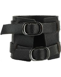 Forever 21 - Woven Leather Cuff - Lyst