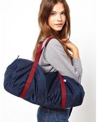 American Apparel Nylon Duffle Bag - Blue