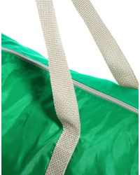American Apparel Nylon Duffle Bag - Green