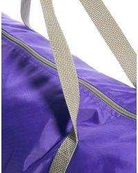 American Apparel Nylon Duffle Bag - Purple
