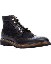 DSquared² Brogue Boot - Black