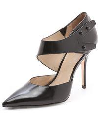 Elizabeth and James - Sand Dorsay Court Shoes - Lyst