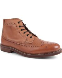 H by Hudson Hemming Brogue Boots - For Men - Lyst