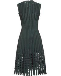 Alaïa Short Dress - Green