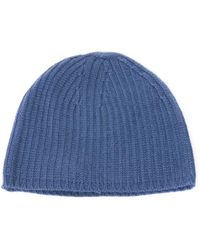 Denis Colomb - Ribbed Knit Cashmere Beanie Hat - Lyst