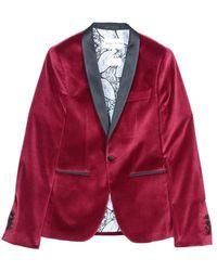 Each x Other Velvet Tuxedo Jacket - Lyst