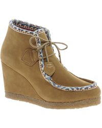 F-Troupe Wedge Boot - Natural