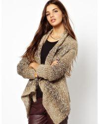 Muubaa - Praia Knitted Leather Cardigan - Lyst