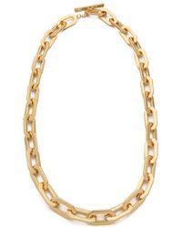 Rachel Zoe - Signature Link Necklace - Lyst