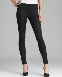 Sold Design Lab Quotation Leggings Coated Side Zip - Gray