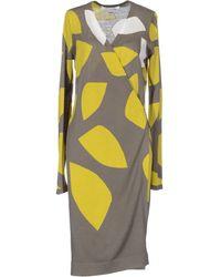 Diane von Furstenberg Kneelength Dress - Lyst